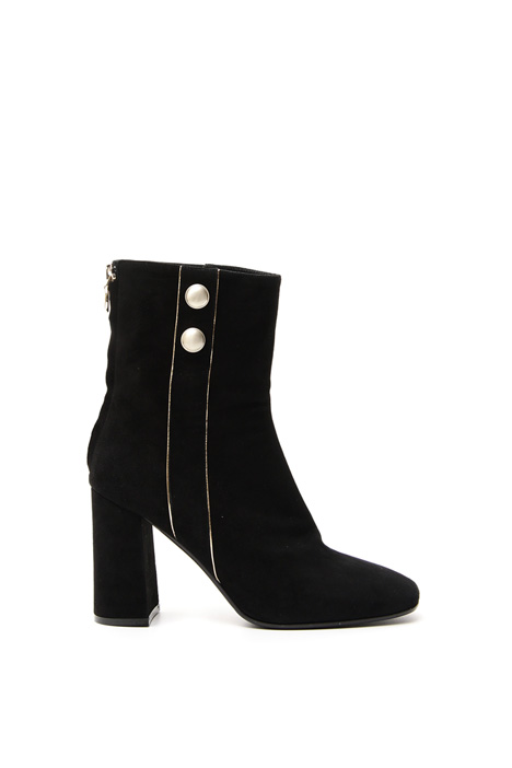 Ankle boot with gold details Diffusione Tessile
