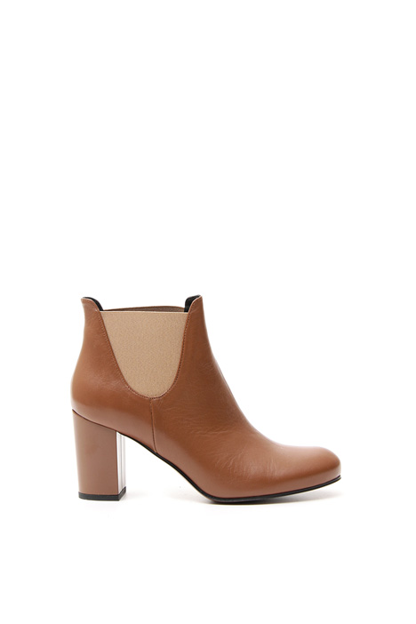 Smooth leather ankle boot Diffusione Tessile