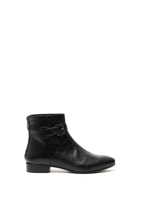 Genuine leather ankle boot Diffusione Tessile