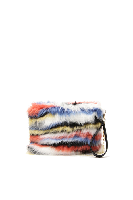 Fur-effect bag Diffusione Tessile