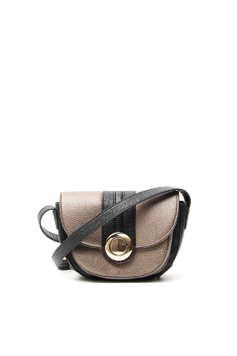 Faux-leather shoulder bag  Diffusione Tessile