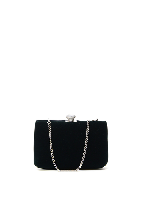 Velvet clutch Diffusione Tessile