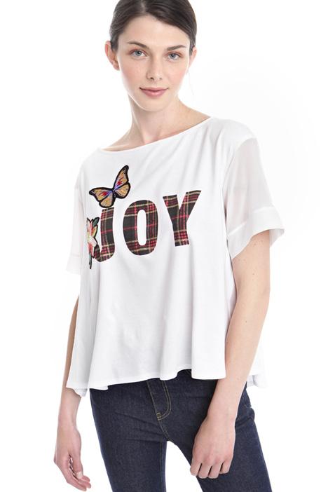 T-shirt con fondo svasato Diffusione Tessile