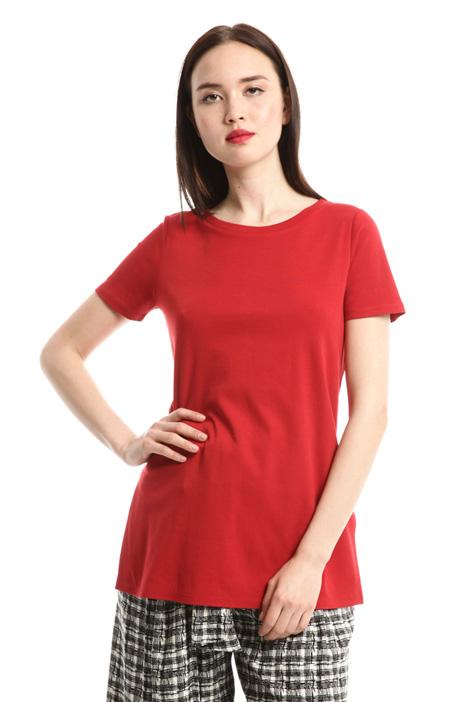 T-shirt lunga con spacchi Diffusione Tessile