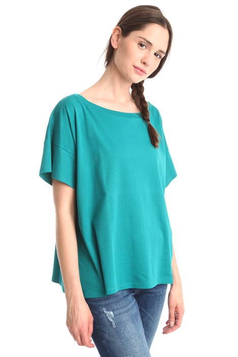 Oversized jersey T-shirt Diffusione Tessile