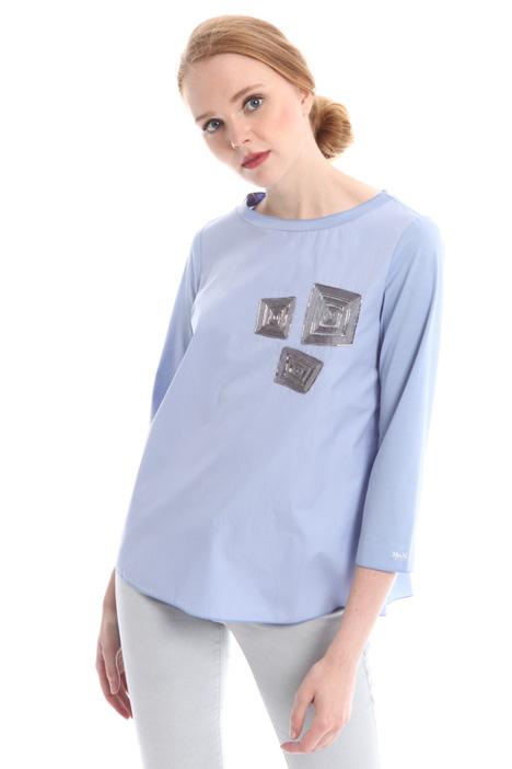 T-shirt con manica tre quarti Diffusione Tessile