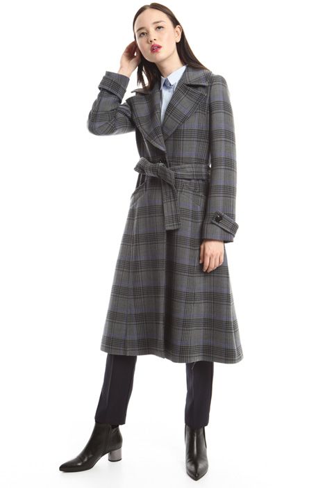 Stretch wool coat Diffusione Tessile