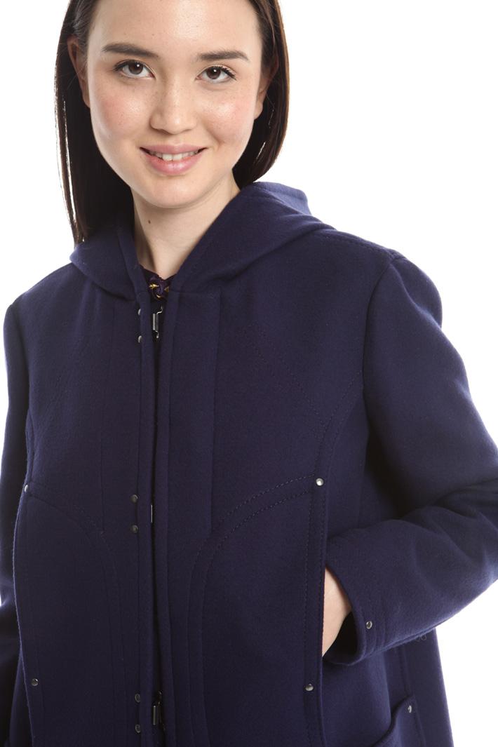 Cappotto montgomery in lana Diffusione Tessile