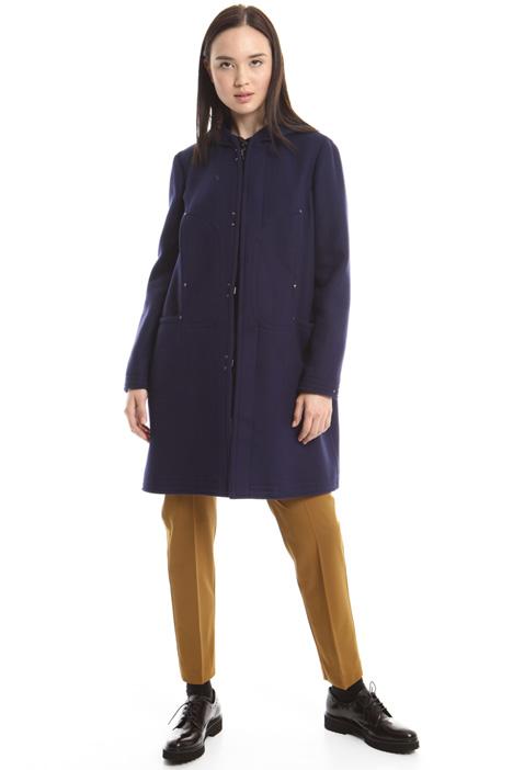 Wool duffle coat Diffusione Tessile