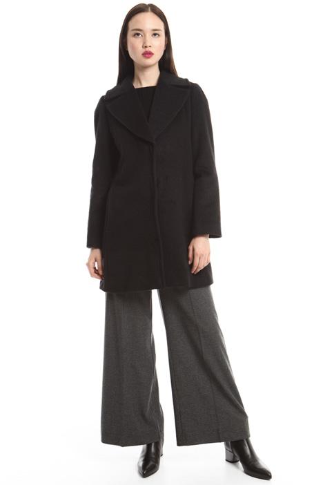 Beaver wool coat Diffusione Tessile