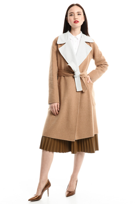Double-faced wool coat Diffusione Tessile