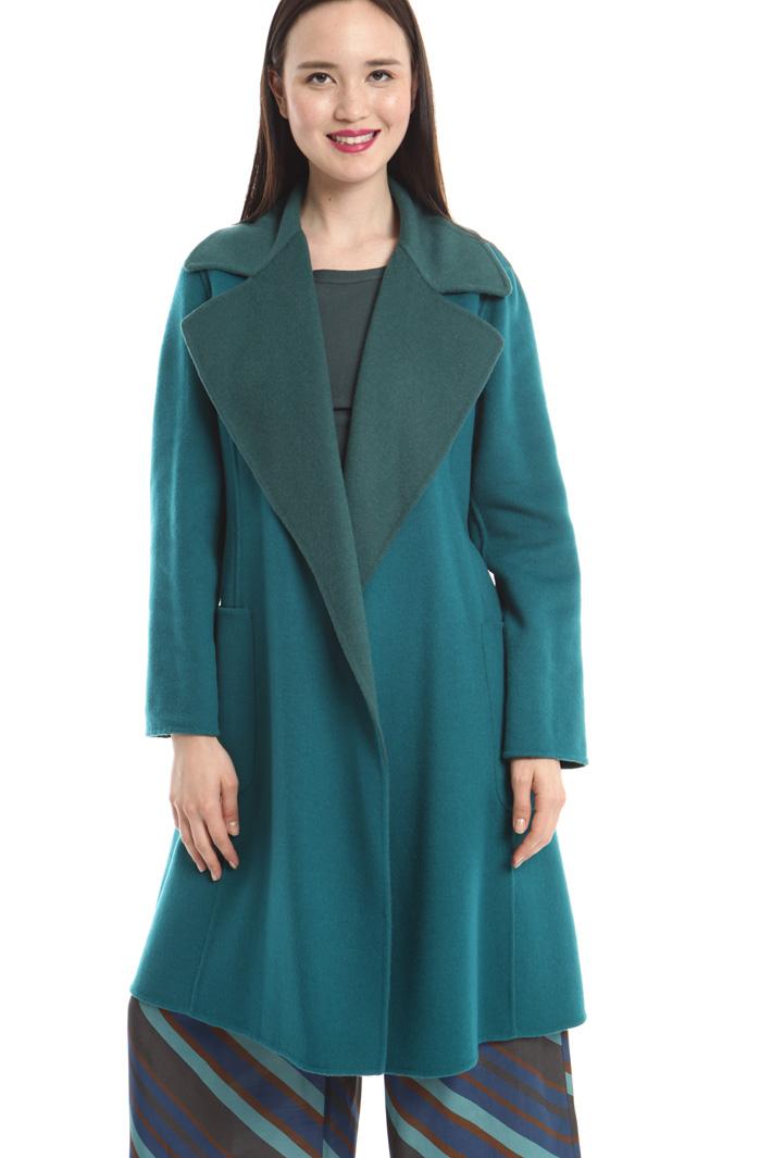Cappotto reversibile in lana Diffusione Tessile