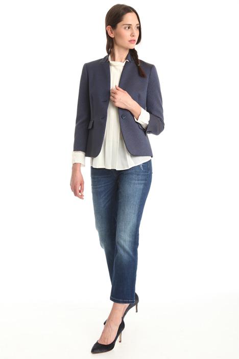 Jacquard cotton jacket Diffusione Tessile