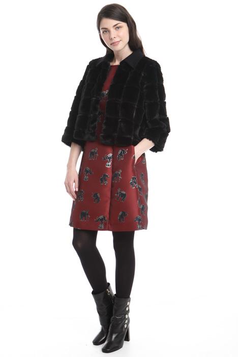 Faux-fur jacket Diffusione Tessile