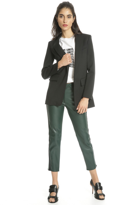 Blazer with contrasting bands Intrend