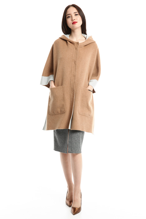 Wide wool cape Intrend