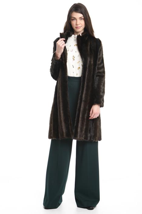 Faux-fur coat Diffusione Tessile