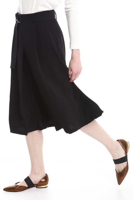 Pleated skirt-pants Diffusione Tessile