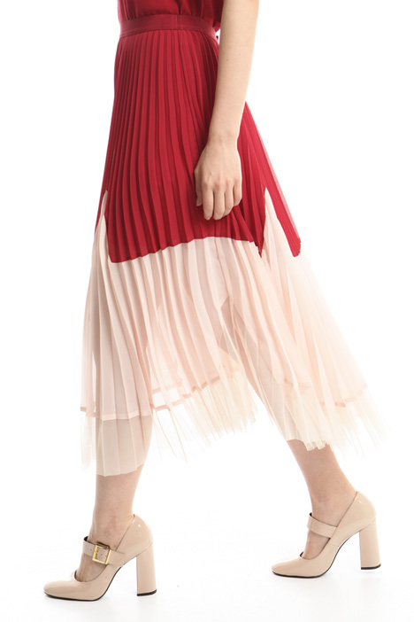 Gonna in georgette e tulle Intrend