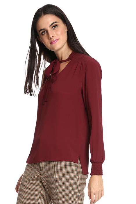 Blusa in crespo di seta Diffusione Tessile
