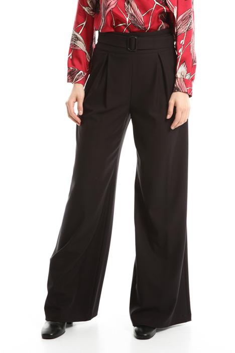 Pantalone palazzo in crepe Diffusione Tessile