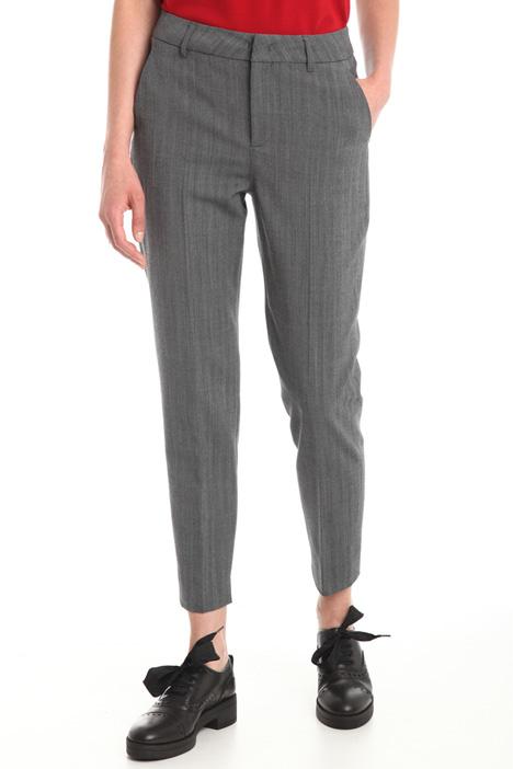 Pantaloni in misto lana Diffusione Tessile