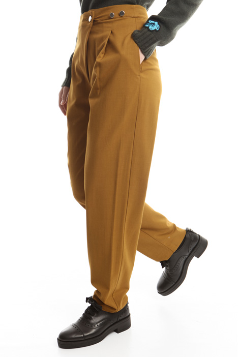 Pleated trousers Diffusione Tessile