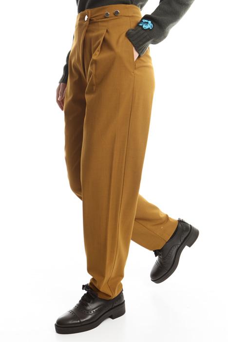Pantaloni con pieghe Diffusione Tessile