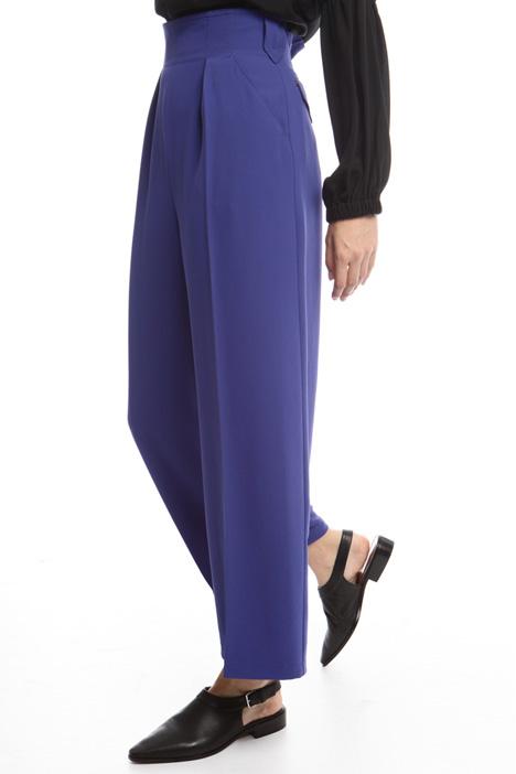 Pantaloni a vita alta in cady Diffusione Tessile