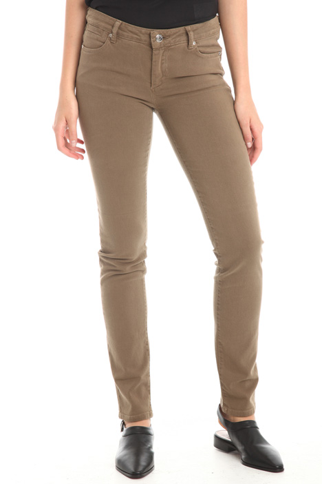 Skinny trousers in cotton Diffusione Tessile