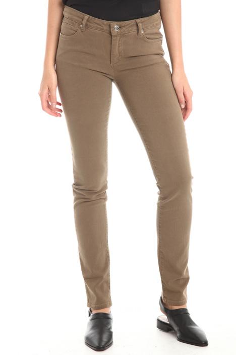 Pantaloni skinny in cotone Diffusione Tessile