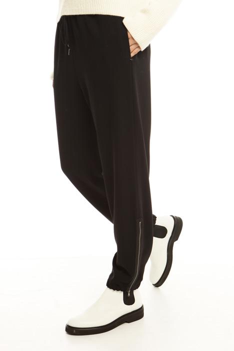 Pantaloni in cady fluido Diffusione Tessile