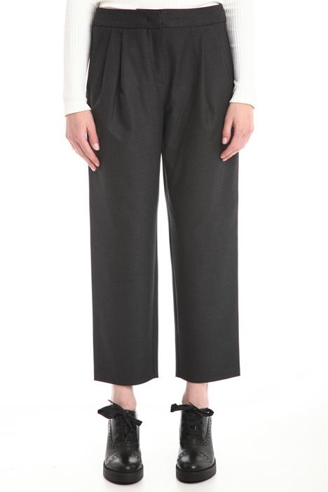 Pantalone cropped stretch Diffusione Tessile