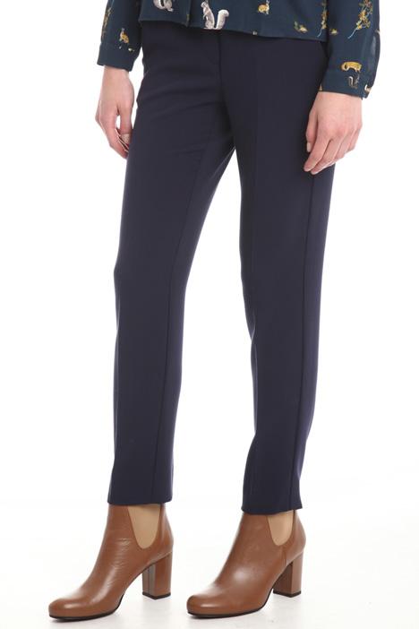 Pantaloni in misto viscosa Diffusione Tessile