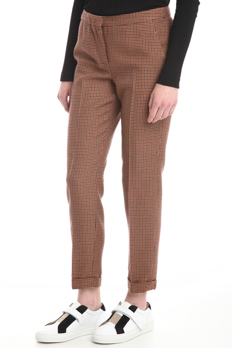 Pantalone in lana tinto filo Diffusione Tessile
