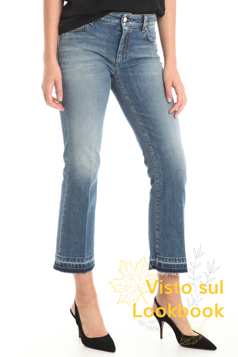 Washed effect jeans Intrend
