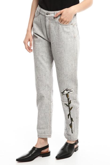 Pantaloni in bull di cotone Diffusione Tessile