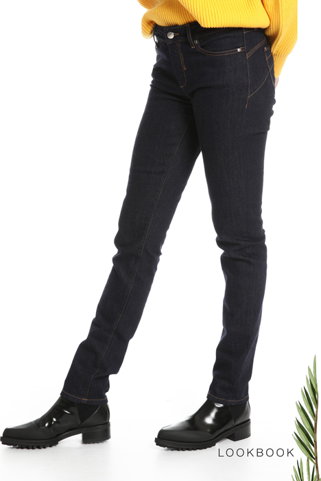 Denim skinny trousers  Intrend