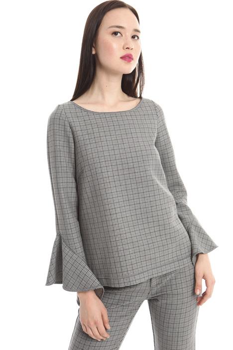 Tunic in stretch fabric Intrend