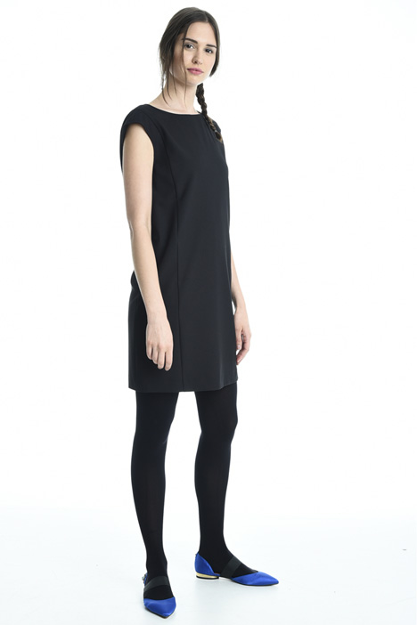 Stretch crepe dress Intrend