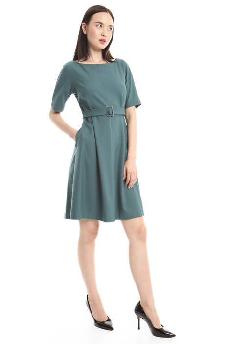 Stretch crepe dress Diffusione Tessile