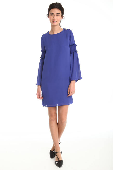 Dress in double georgette Diffusione Tessile