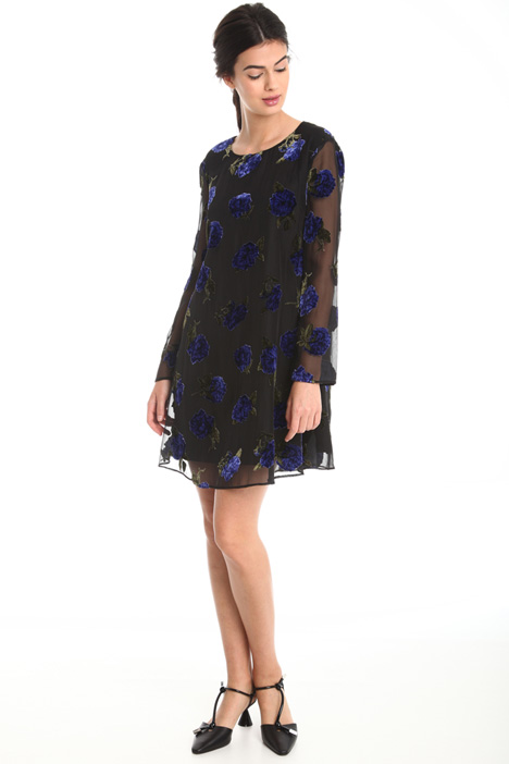 Devoré velvet dress  Intrend