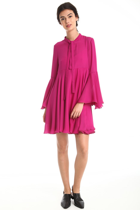 Pleated fluid dress  Intrend