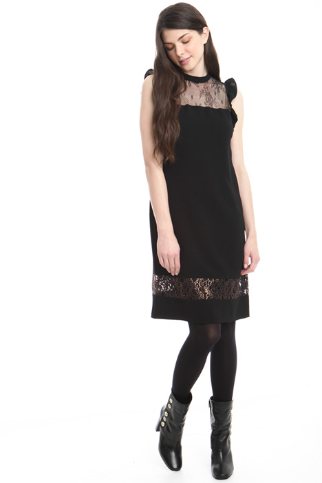 Lace insert dress Intrend