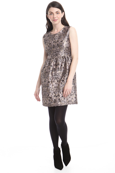Brocade sleeveless dress Intrend