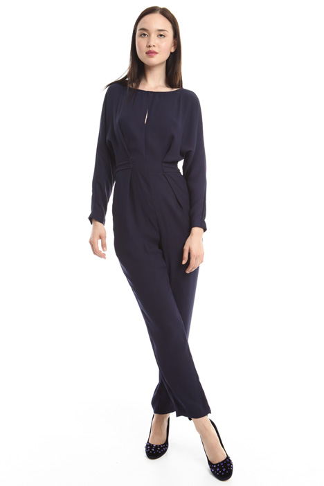 Jumpsuit in crepe fabric Diffusione Tessile