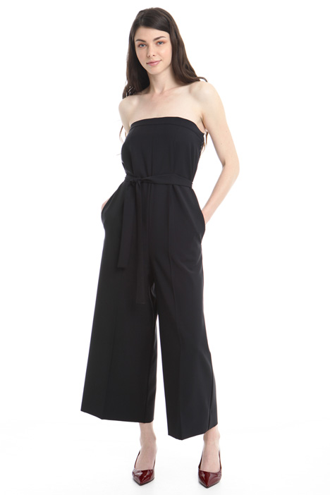 Wool crepe jumpsuit Diffusione Tessile