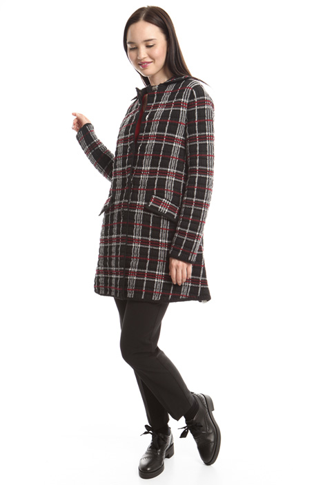 Knitted jacquard jacket Diffusione Tessile