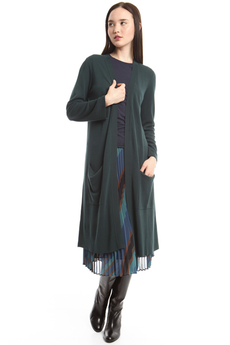 Long viscose cardigan Intrend